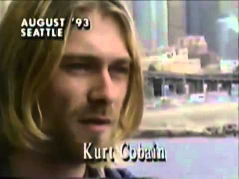 Cobain - August, 1993 Seattle. Kurt Cobain from Nirvana. The original video was region blocked so I re-uploaded it here and managed to get the copyright claims lifted.