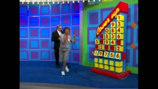 The luckiest contestant on TPIR playing Cover Up and spinning $1.00 twice on the Big Wheel.  Also, a contestant almost bid $35000 on a brand new HD TV.