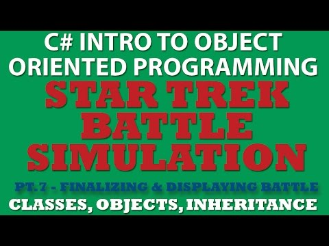 C# Star Trek Battle Simulator Pt.7: Finishing game Loop and Displaying Battle Result