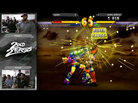 Skillions x 2 Old 2 Furious AGAIN Street Fighter EX2 Plus Top 5 (Apollo) vs (HARD_BREAD)
