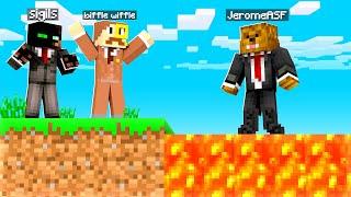 Walking On Lava In Camp Minecraft | JeromeASF