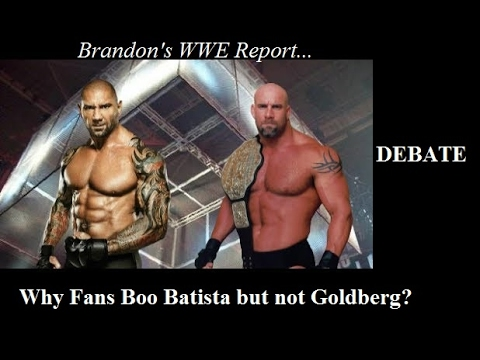 Why Did WWE Fans *Boo* The Return Of Batista But NOT Goldberg In 2016?