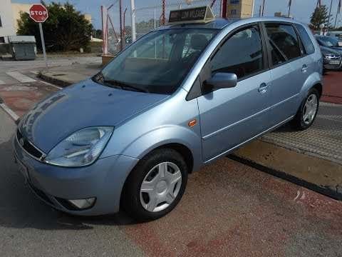See video Ford FIESTA 1.4i TREND