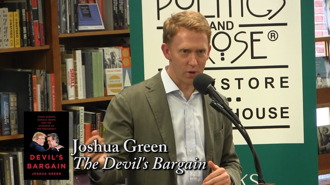 Joshua Green Discusses <i>The Devil&#8217;s Bargain</i>