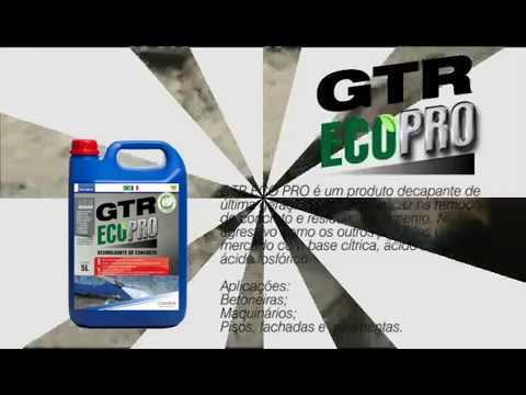 GTR ECO PRO - DESESTRUTURANTE DE CONCRETO - Performance Econano