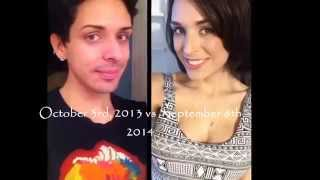 1 Year Transition Timeline, MTF. 2014 watch now! by Katherine H