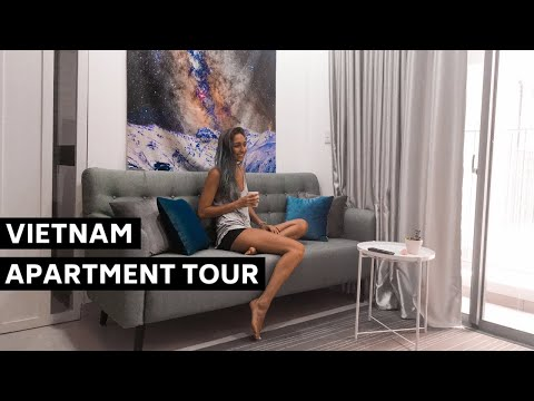 Ho Chi Minh (Saigon) Modern Apartment Tour