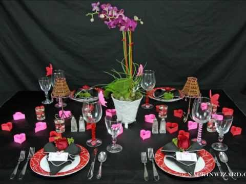valentine napkin folding - Napkin Wizard Sweet Valentine's Day Table Setting.