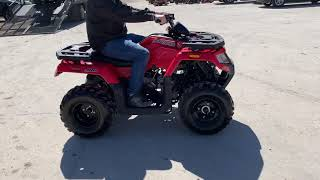 "8. ""UNUSED"" 2017 Arctic Cat Alterra 300 Multi-Purpose ATV"