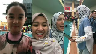 Video Erra Fazira & Laudya Cynthia Bella sama2 bawak Aleesya pergi Swimming Gala 2017 MP3, 3GP, MP4, WEBM, AVI, FLV Mei 2019