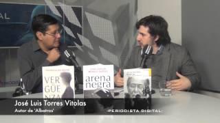 Jose Luis Torres Vitolas, autor de la novela 'Albatros'