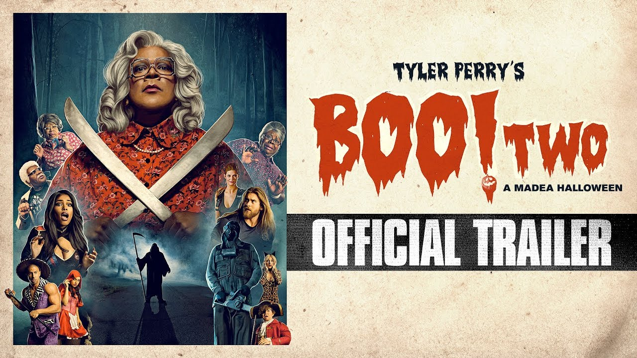 You can Run but You Can't Hide in Tyler Perry's Comedy-Horror Sequel 'Boo 2! A Madea Halloween' (Trailer)