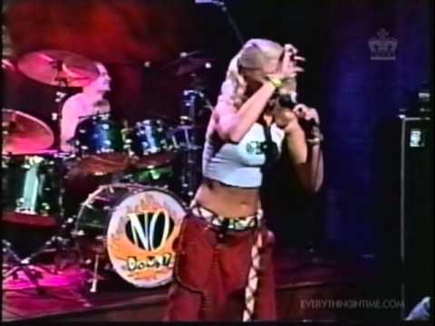 No Doubt - Just a Girl (live Conan O' Brien 1996)