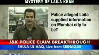 Bollywood Starlet Laila Khan Dead  Kashmir Police