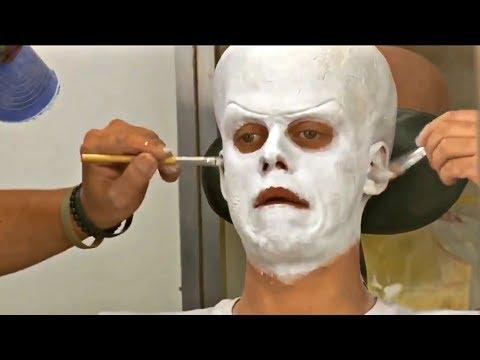 Bill Skarsgård Makeup Test For Pennywise.