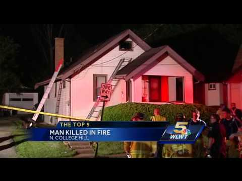 wlwttv - A man was found dead after a Wednesday morning fire.