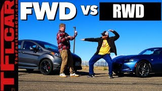 Gameshow: Is The New 2019 Mazda Miata Faster Than a Ford Fiesta ST? Ep.14 by The Fast Lane Car