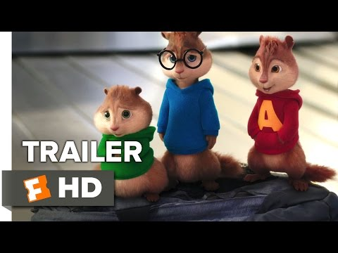 Alvin and the Chipmunks: The Road Chip TRAILER 1 (2015) - Bella Thorne, Kaley Cuoco Movie HD