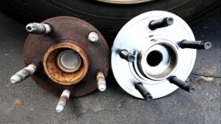9. How to Replace a Front Wheel Bearing