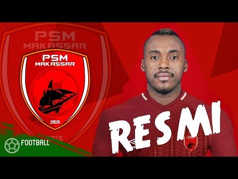 RESMI !! Welcome Guy Junior di PSM Makassar Striker Baru 2018