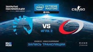 Team Liquid vs compLexity- IEM Katowice Qual NA - map2 - de_mirage [yXo, Enkanis]