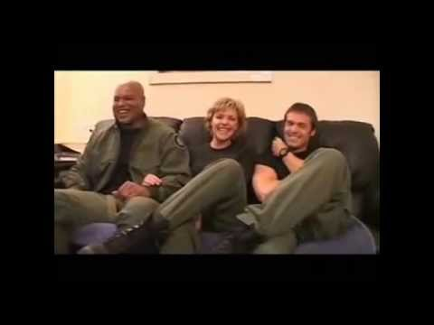 Stargate SG-1 /funny moments/behind the scene