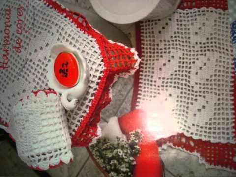 arte em crochê...senhor ilumina sempre minha imaginação!!!!