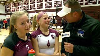 Post-match interviews: East Lyme volleyball 3-0 over NFA