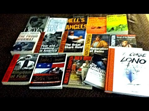 Book Collection #3 - Hunter S. Thompson Collection