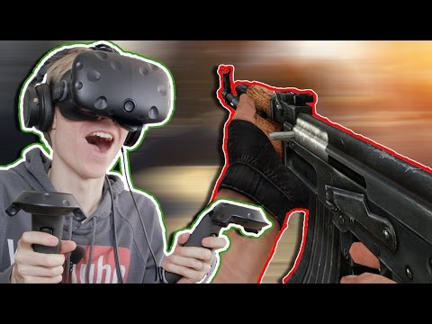 AMAZING VR MULTIPLAYER FPS! | Pavlov VR (HTC Vive Gameplay)