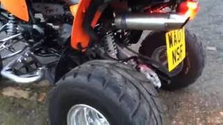 10. 2007 Kymco Maxxer 300cc Quad
