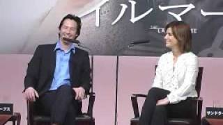 Sandy and Keanu - Japan press con 1