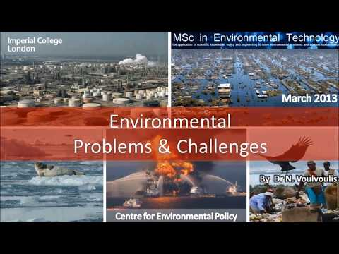 Environmental Problems and Challenges