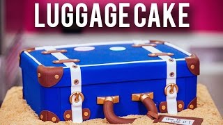 Video How To Make A LUGGAGE CAKE! Kick Off The New Year With Chocolate Cake & Three Types Of BUTTERCREAM! MP3, 3GP, MP4, WEBM, AVI, FLV Desember 2018