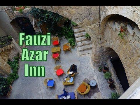 Staying at the Fauzi Azar Inn in Nazareth, Israel