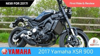 10. 2017 Yamaha XSR 900 - First Ride and Review