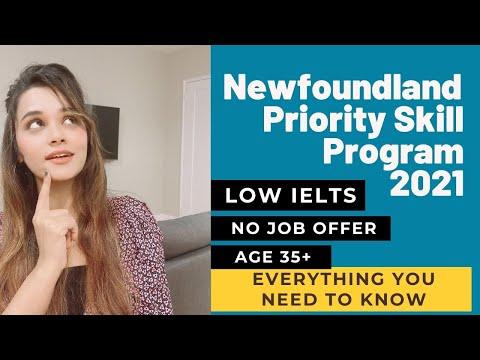 Newfoundland and Labrador Immigration - Priority Skills  2021 | Canada PNP | Canada Stories