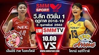 3/02/2019 NEC Red Rockets — Toray Arrows | JAPAN V.LEAGUE 2018-2019