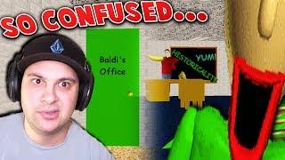 SENT TO BALDI'S OFFICE... A NEW SECRET ENDING?! | Baldi's Basics (Secret Ending)