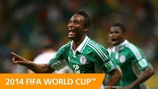 Featuring interviews with John Obi Mikel, Victor Moses and coach Stephen Keshi, this preview examines what to expect from the African champions (5:27) in Gro...