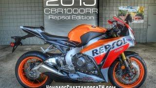 6. 2015 CBR1000RR Repsol Edition Walk Around Video - Honda of Chattanooga TN GA AL