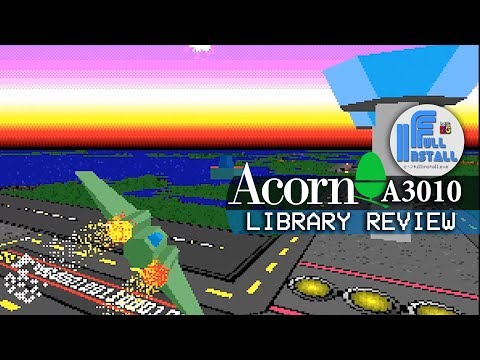 Acorn Archimedes A3010 Library Review