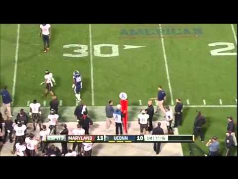 Geremy Davis Game Highlights vs Maryland 2013 video.