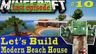 Minecraft Let's Build: Modern Beach House #10/10