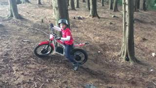 6. kids Beta Minitrial electric trials bike age 8 up