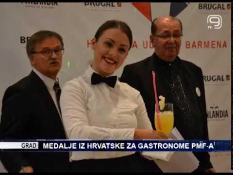Медаље из Хрватске за гастрономе ПМФ-а