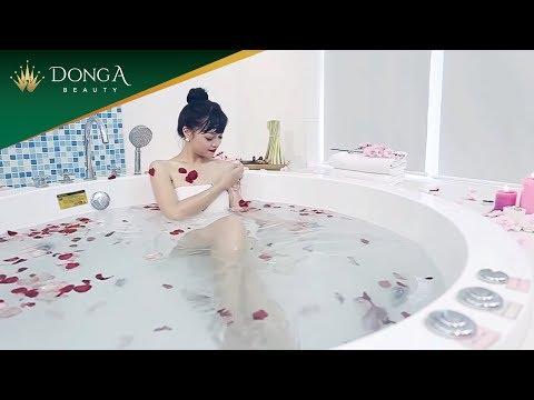 Video tắm trắng tại Thẩm mỹ viện Đông Á