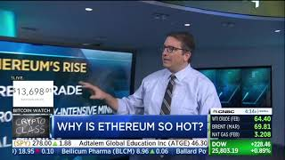 Why is Ethereum so hot? CNBC Fast Money 01.12.18