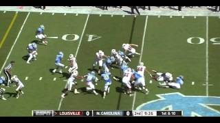 Zach Brown vs Louisville 2011