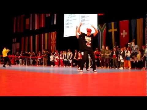 Matthias Backhaus - World Championship 2012 11th Place.
